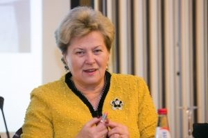 Socialdemokratė I. Šiaulienė išrinkta Seimo pirmininko pavaduotoja