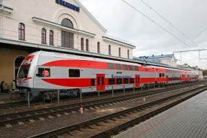 Šią žiemą daugiau žmonių keliavo traukiniais