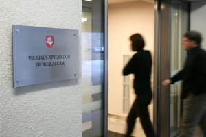 Vilniaus apygardos prokuratūrai vadovaus J. Laucius