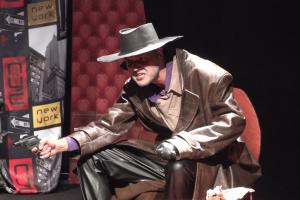 """Užupio dramos teatre – komedijos premjera """"Vienarankis iš Spokano"""""""