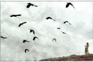 """Atidaroma Šiaurės šalių vaikiškų knygų iliustracijų paroda """"Su vėju!"""""""
