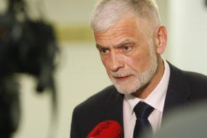 B. Markauskas prabilo apie prezidentės patarėjos raginimus trauktis