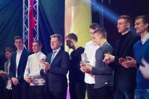 Geriausių sportininkų apdovanojimuose – irkluotojų ir krepšininkų triumfas