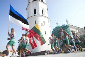 Vilniuje startuoja 27-asis tarptautinis Baltijos kelio bėgimas