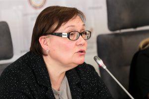 A. Maldeikienė nori Seimo kėdę iškeisti į Europos Parlamento
