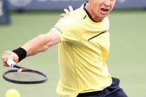 Tenisininkas R. Berankis triumfavo turnyre Kanadoje