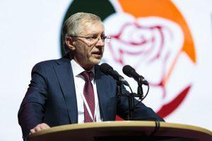 G. Kirkilas tikisi bendradarbiauti su Vokietijos socialdemokratais