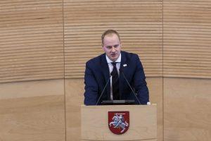 Seimas nesutiko V. Kanapinsko skirti VTEK vadovu