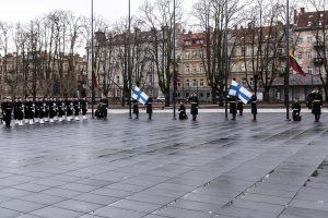 Lietuva mini Suomijos nepriklausomybės šimtmetį