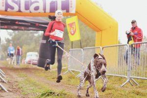 Bėgimas su šunimis Lietuvoje įgauna pagreitį
