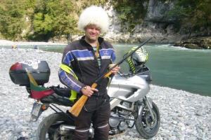Per 17 dienų motociklu įveikė 8 tūkst. kilometrų