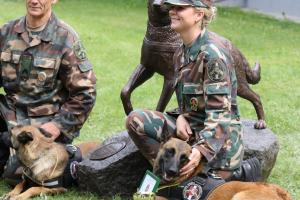 Biatlone su tarnybiniais šunimis triumfavo Pagėgių rinktinės pasieniečiai