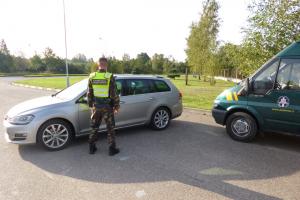 Vilnietis vairavo Belgijoje vogtą automobilį