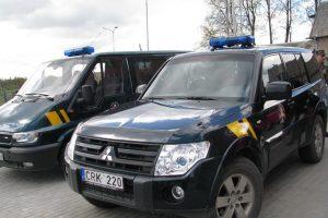 Pirmą kartą drauge patruliuos Lietuvos ir Latvijos pasieniečiai