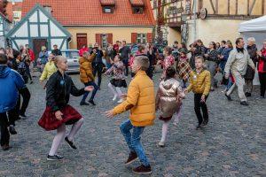 Su visa Lietuva šoko ir klaipėdiečiai