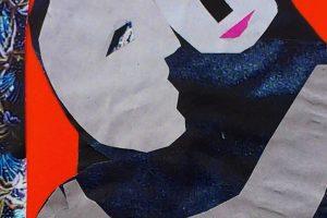 """Galerijoje """"Meno niša"""" – latvių menininkės koliažai"""