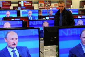 Politologas: Rusijos valstybė yra V. Putinas