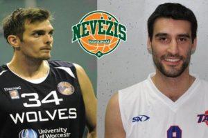 """Amerikietis ir serbas prisijungs prie """"Nevėžio"""" krepšinio komandos"""