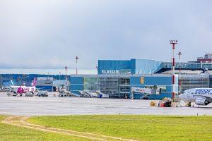 Vilniaus oro uostas naktimis nepriims skrydžių