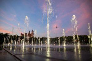 Vaikų džiaugsmui: Lukiškių fontanas pateikia dar vieną staigmeną