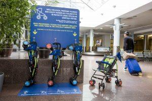 Vilniaus oro uostas – dar draugiškesnis šeimoms