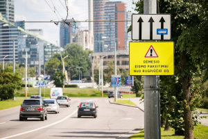 Dėmesio: sostinės žiedinėse sankryžose bus eismo pakeitimų