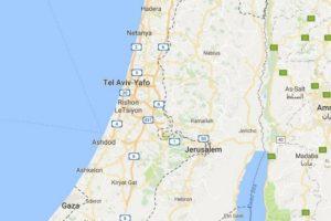 """""""Google Maps"""" politika: Palestinos pavadinimo žemėlapiuose nėra"""