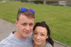 R. Lukoševičiūtė ištekėjo už 16 metų jaunesnio mylimojo