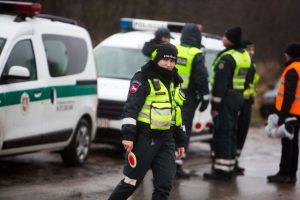 Šventinio reido metu pareigūnams įkliuvo girtas taksistas