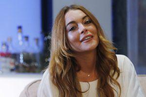 Aktorei L. Lohan per iškylą laivu inkaras nuplėšė piršto galiuką