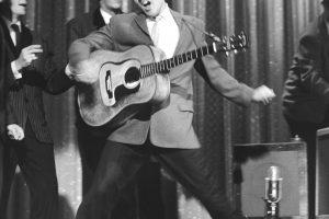 Aukcione parduodama E. Presley'io gitara ir Lady Gagos pianinas