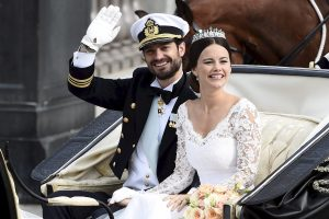 Švedijos princas Carlas Philipas su žmona susilaukė sūnaus