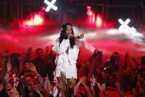 MTV apdovanojimuose Rihanna bus pagerbta specialiu prizu