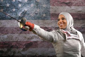 I. Muhammad – pirmoji amerikietė su hidžabu olimpinėse žaidynėse