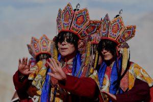 Himalajuose į retą budistų festivalį susirinko tūkstančiai žmonių