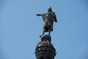 Barselonoje gali nelikti K. Kolumbo skulptūros