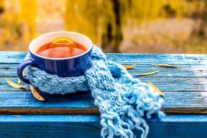Vėlyvą rudenį – šildančios arbatos puodelis (receptai)
