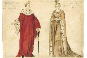 Vytauto žmonai buvo padovanotas vienas pirmųjų klavišinių muzikos instrumentų