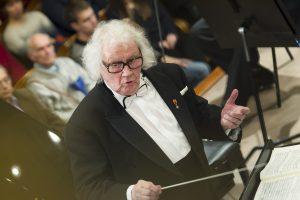 80-metį švenčiančiam dirigentui J. Domarkui – šalies vadovų sveikinimai