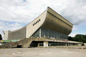 Sporto rūmai – retas brutalistinės architektūros pavyzdys Lietuvoje