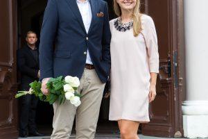 M. Stasiulis su žmona pasuko skirtingais keliais
