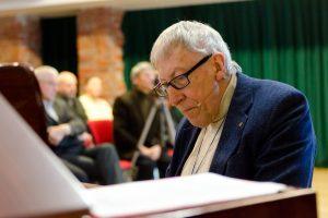 Paskutinė kompozitoriaus G. Kuprevičiaus vieša paskaita  – apie tylos reikšmę