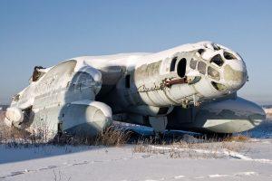 """Nežemiškos išvaizdos sovietinis karo lėktuvas – lyg iš """"Žvaigždžių karų"""""""