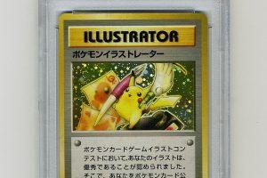 Reta pokemonų kortelė parduota už rekordinę 54 970 dolerių sumą