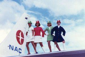 Kelionė lėktuvu praeityje: dabar tai sukeltų skandalus ir šokiruotų