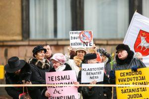 Kaune vyko mitingas prieš korupciją