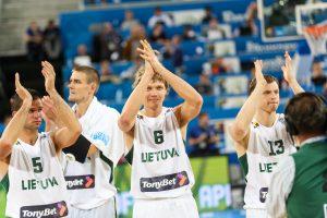 Solidų žaidimą pademonstravę lietuviai patiesė Prancūzijos rinktinę