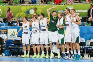 Sidabras – jau kišenėje! Lietuviai nušlavė kroatus ir finale žais su prancūzais