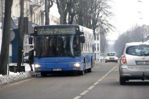 Klaipėdoje pirks naujus autobusus