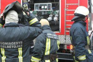 Vilniuje užsiliepsnojo angaras: ugniagesiai plušo keturias valandas